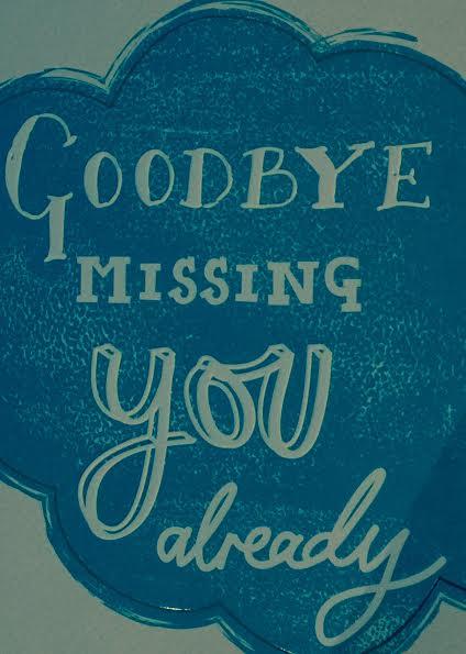 its a wrap goodbye card