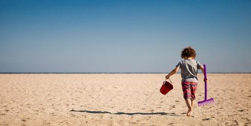 sally boy rake beach