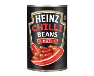 550x450 Hot Chilli Salsa Beans 420g
