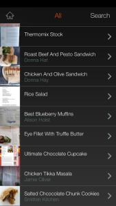 search recipe