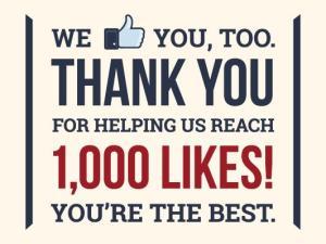 1000 thanks